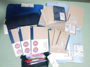 無印の福袋にはめちゃんこたくさんノートが入ってた