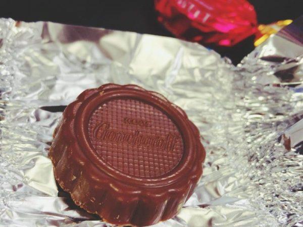ゴンチャロフのチョコ