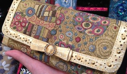 クリムトコレクション。シンクビーの財布