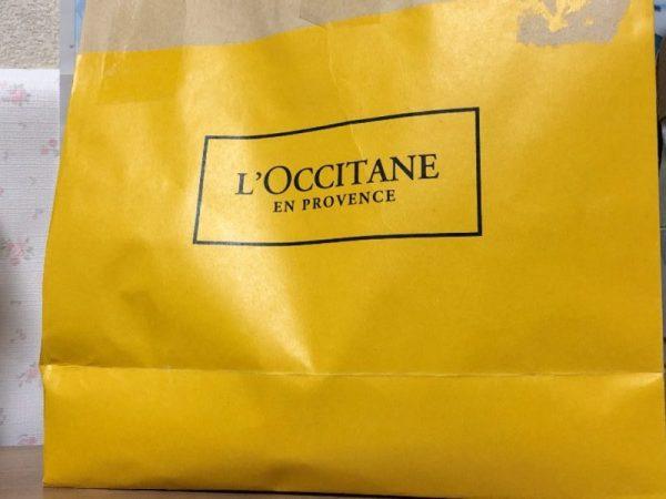 ロクシタン福袋2020の紙袋