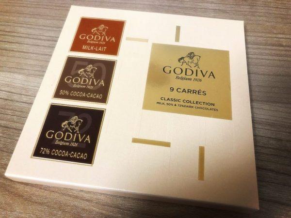 ゴディバのカレ
