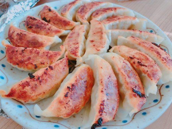 丸源ラーメンの餃子