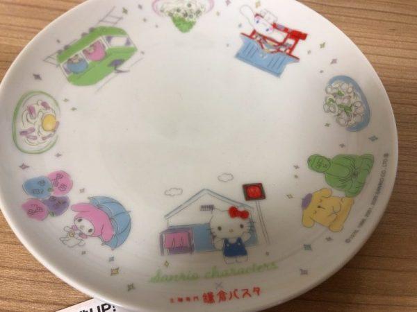 鎌倉パスタとサンリオのコラボ皿