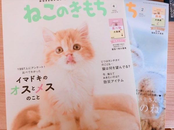 ねこのきもち雑誌