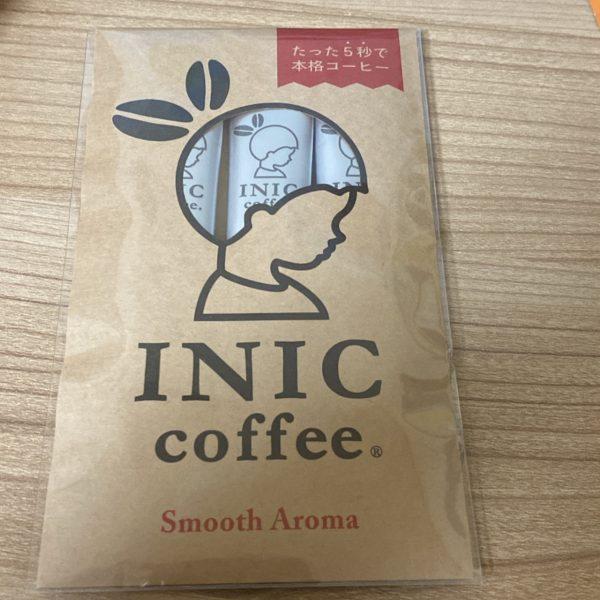 イニックコーヒーのサブスクに入ってたセット