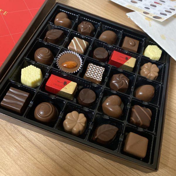 メリーチョコレートがお菓子のサブスクに入ってた